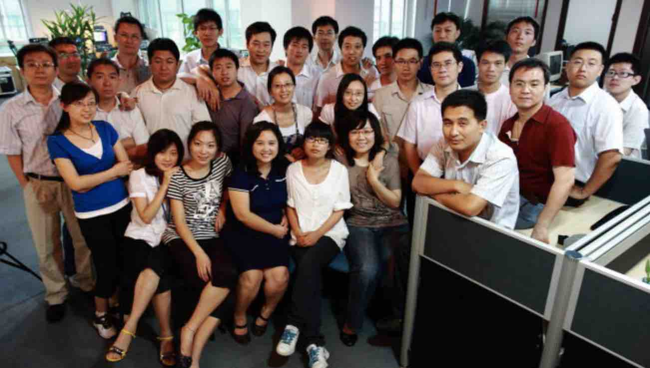 a group photo of Belpax staffs