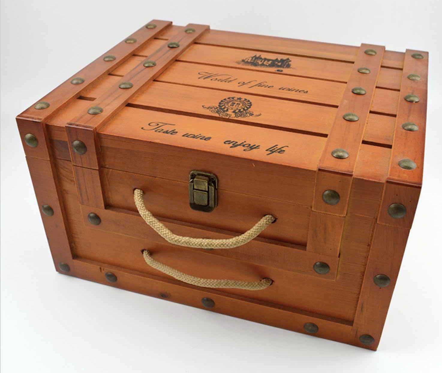Premium Wooden Wine Box